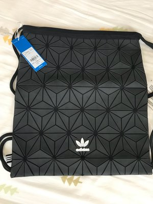 Adidas Originals 3D GYM Sack 限量後背包DH0209-經典黑