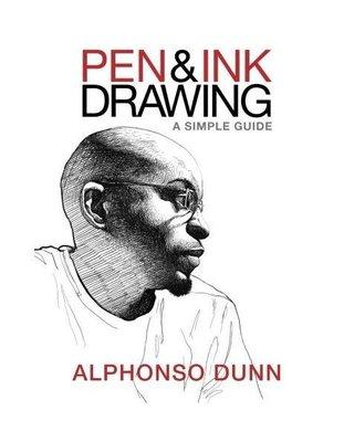 日版漫畫原版 Pen and Ink Drawing: A Simple Guide 鋼筆畫指南