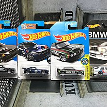 Hotwheels BMW M3 E36 M3 Race Z4 Motorsport 73 3.0 CSL Race Car