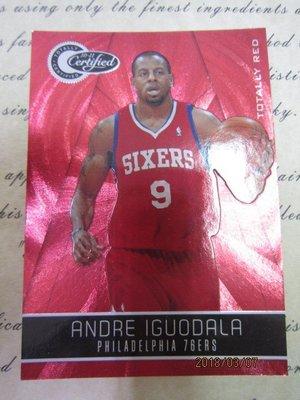 新賣家~10/11~Andre Iguodala /499~TC~紅亮~限量/499~8 1元起標