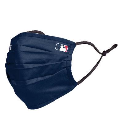美國原裝進口 MLB FOCO 可水洗運動深藍色口罩非醫療用