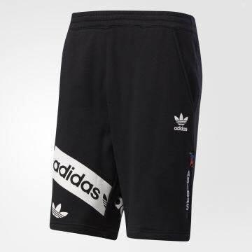 Won公羽快時尚-潮流服飾 adidas三葉草系列-男款LONDON系列短褲BQ0917