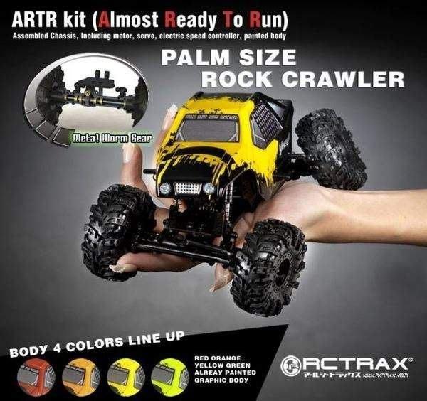 ☆大都會☆掌上型遙控攀岩車 RCTRAX miniQLO PALM SIZE ROCK CRAWLER (零件區)