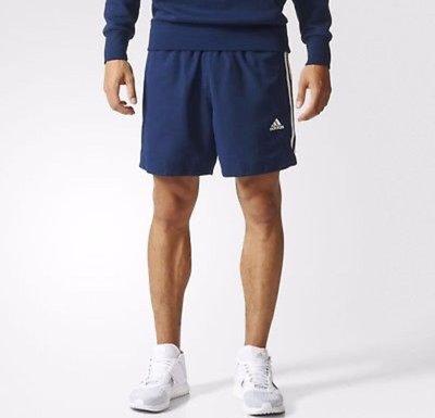 實體店面Adidas 男生 棉褲 短褲 休閒 藍色 舒適  BP5467原價1290特價1090尺寸M~XXL