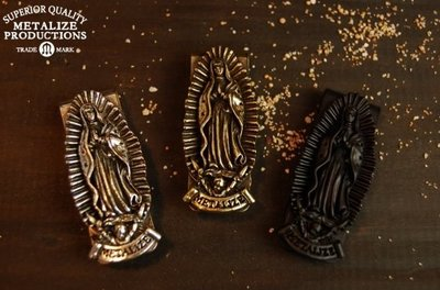 (I LOVE樂多) METALIZE Blessed Virgin Mary Money Clip 聖母鈔票夾