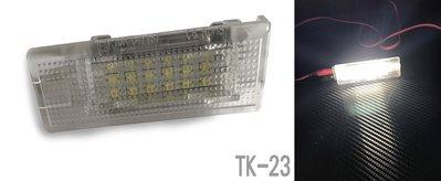 LED車牌燈 VW福斯專用車牌燈 專車專用 Golf4.5.6 Passat CC Polo Transporter
