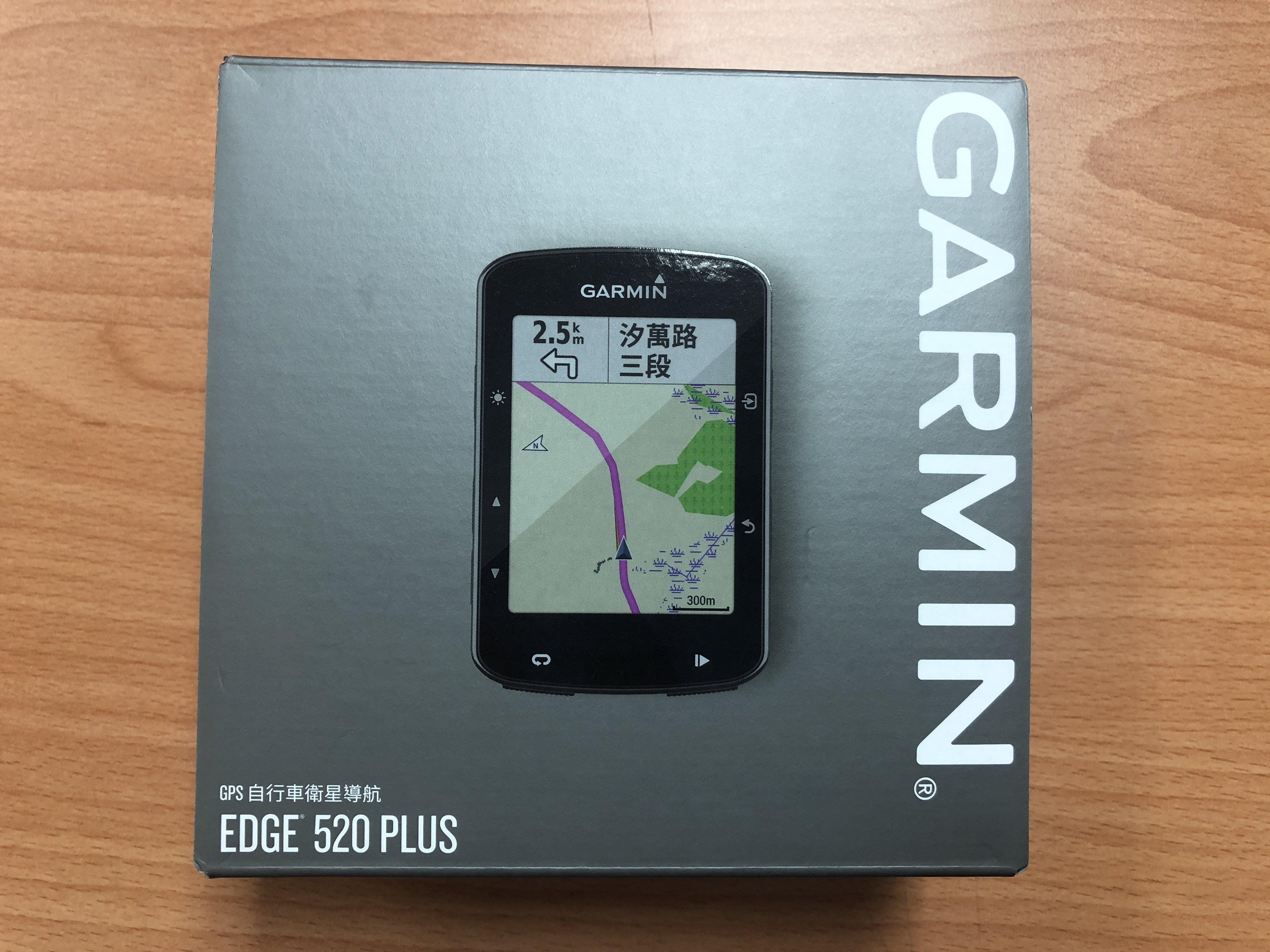 新款 GARMIN EDGE 520+ PLUS GPS 碼表 520 +