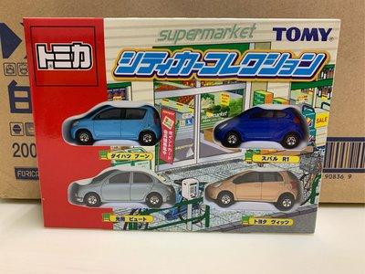 [現貨]Tomica Tomy 舊藍標 supermarket 套組 盒組