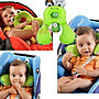 汽車座椅枕嬰兒推車枕大號 寶寶旅遊枕護頭頸...