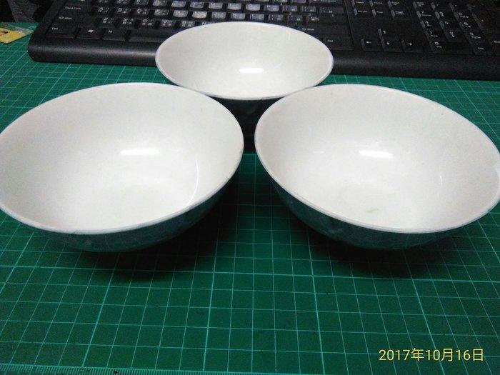 早期收藏《 日本磁 碗 背面有落款 》直徑12CM 高7CM 無瑕 三個合售 【CS超聖文化讚】