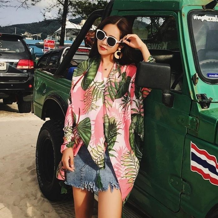YEAHSHOP 春秋民族風旅游棉麻圍巾女夏季海Y185