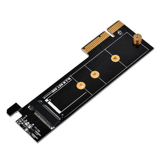 光華CUMA散熱精品*銀欣 SilverStone ECM25 PCIe x4 介面 轉 M.2 SSD轉接卡~現貨