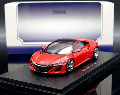 【M.A.S.H】絕版品特價 Ebbro 1/43 Honda NSX Concept Car 2013 red