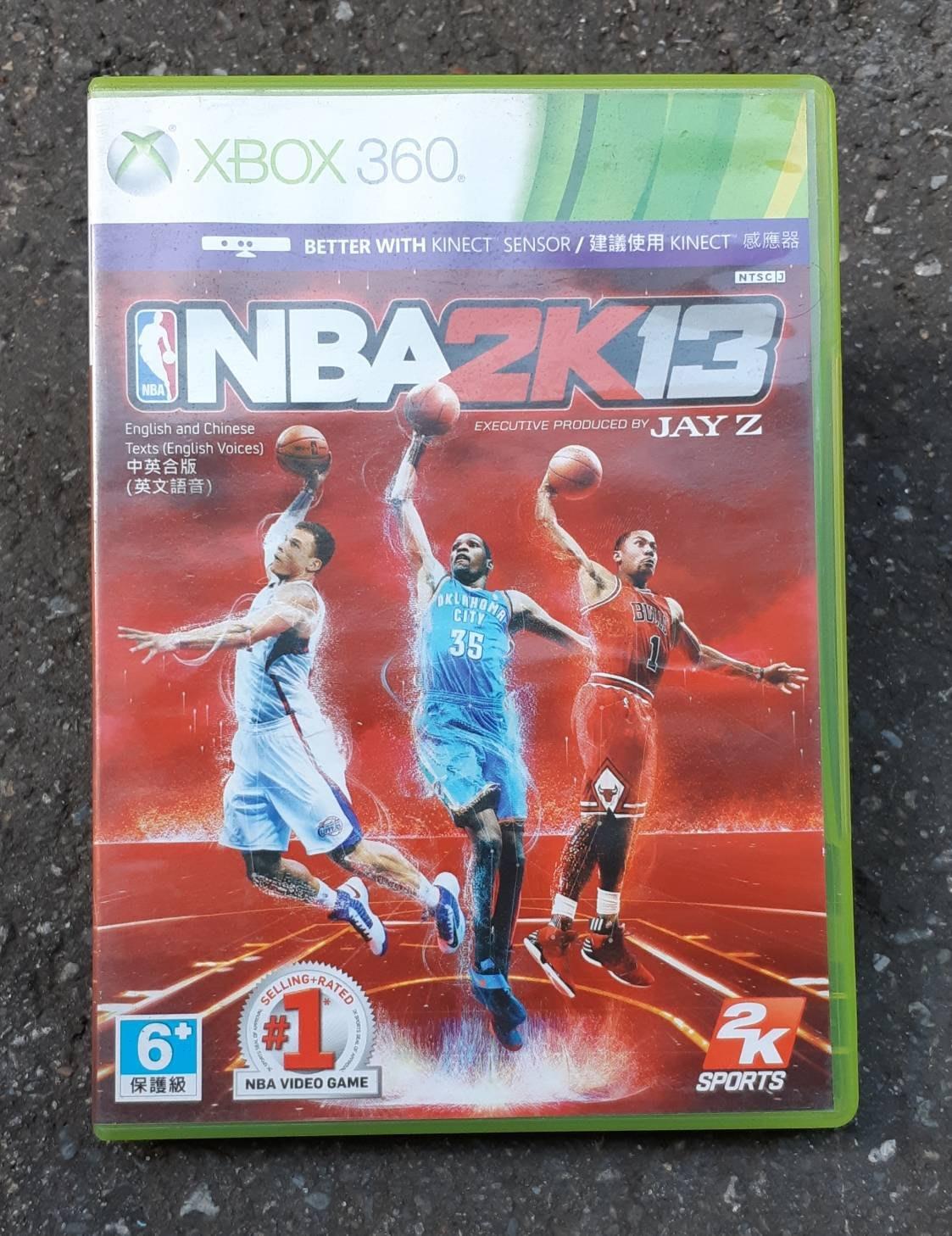 二手~XBOX360 NBA 2K13 / 中英合版(英文語音)