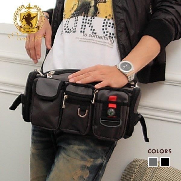 腰包 潮流多口袋腰包斜背包包 NEW STAR BW01