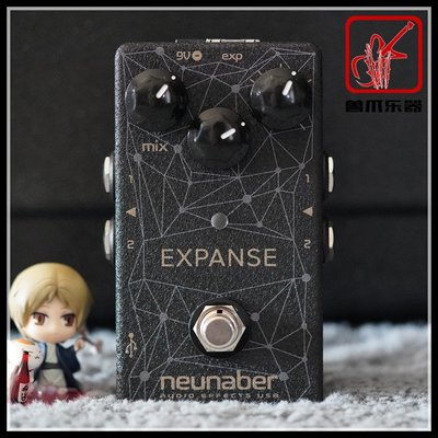 Neunaber Expanse WET 立體聲 可編輯混響單塊效果器印象小店