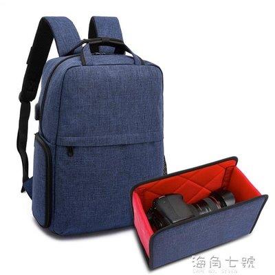 攝影背包多功能攝影雙肩數碼背包專業運動單眼相機包便攜攝像佳能尼康男女 海角七號