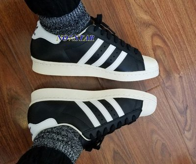 Adidas Originals Superstar 80s 黑白 金標 貝殼頭 奶油底 復古 男女鞋  G61069