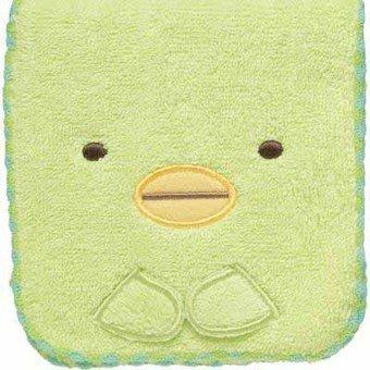 角落公仔企鵝收納包--日本進口SAN-X角落公仔毛巾小物收納包--秘密花園