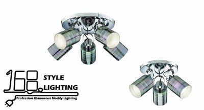 【168 Lighting】華麗玻璃《時尚吸頂燈》大款GK 81254-2