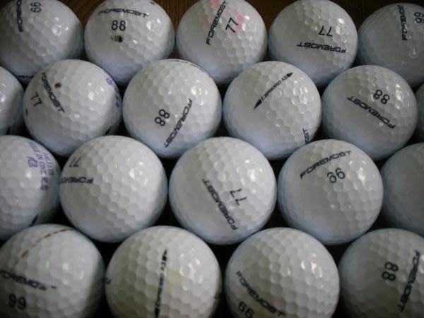 =俊達=   二手高爾夫球   FOREMOST  ESPRESSO A3 .每顆,8.元.共300顆..3層球