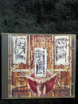 Napalm Death, -Death By Manipulation -1992年美國版 碟片9成新 -151元起標
