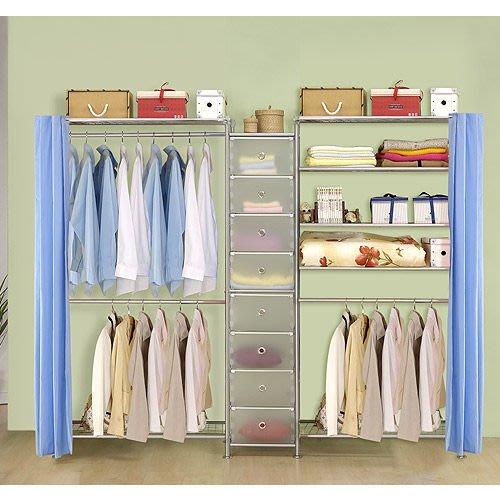 【中華批發網DIY家具】D-62A-15-W2型90+pp+W5型90衣櫥置物櫃-(前罩)不織布