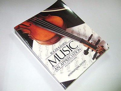 古集二手書Z ~Music : An Appreciation Roger Kamien 0071126635