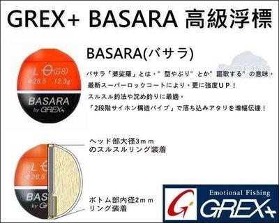 【閒漁網路釣具】GREX+ BASARA高級浮標