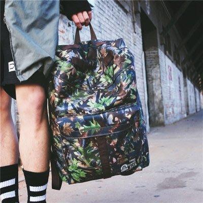 後背包男迷彩防水韓版男女時尚潮流大容量背包旅行包日繫學生書包   全館免運