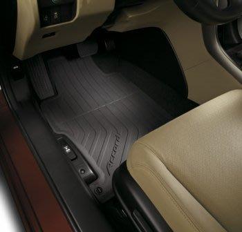 Honda 本田 Accord Inspire 八代 8代 雅歌 雅哥 專用 原廠 美規 選配 四季 像膠 腳踏墊