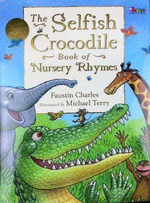 [邦森外文書] The Selfish Crocodile Book of Nursery Rhymes 精裝本+CD