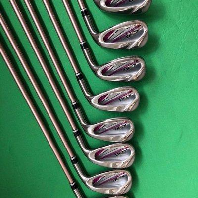 高爾夫球桿XXIO/xx10 MP1100高爾夫球桿 女用鐵桿組 8支裝