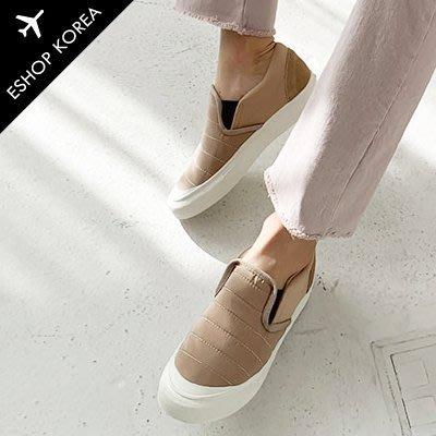 韓國【PAYS079-8】韓國空運尼龍空氣感絎縫休閒鞋