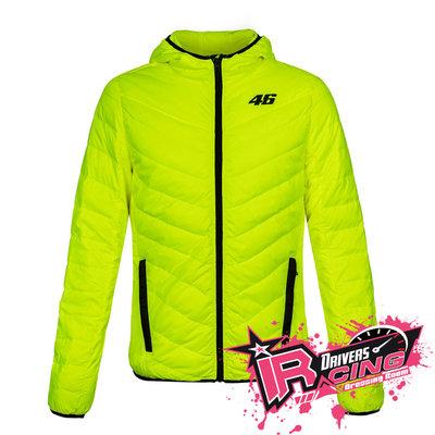 ♚賽車手的試衣間♚ VR46 Rossi CORE DOWN JACKET YELLOW FLUO 擋風 外套 夾克