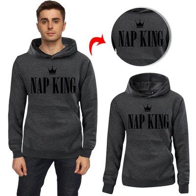 2019 WISH速賣通熱銷 字母NAP KING NAP QUEEN 情侶時尚衛衣
