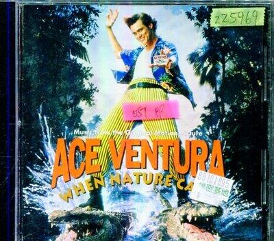 *還有唱片行三館*ACE VENTURA WHEN NATURE CALLS 二手 ZZ5969(需競標)