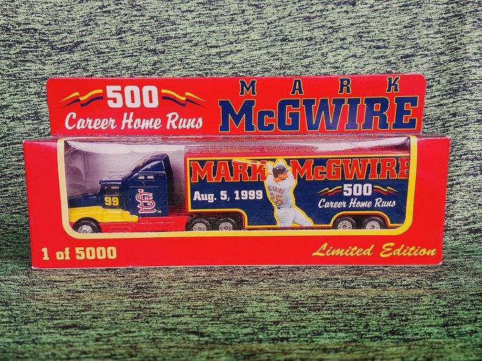 《金塊》MLB紅雀 Mark McGWIRE 紀念車 限量 1 of 5000 模型車 玩具大貨櫃車