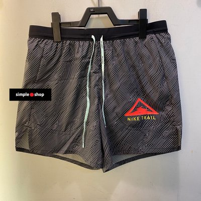 【Simple Shop】NIKE Flex Stride 5 短褲 NIKE慢跑褲 越野跑褲 黑 CQ7950-010