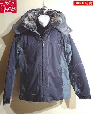 日本品牌 janny k finery 風衣 大衣 外套  保暖款-女款-L號-藍【JK嚴選】LV 鬼怪