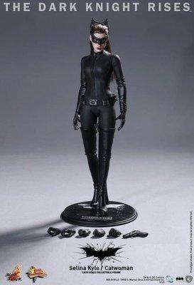 HOT TOYS MMS188 黑暗騎士 黎明升起 蝙蝠俠 貓女 安妮 海瑟薇 12吋