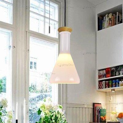 【Lighting.Deco】歡樂空間 神奇實現 餐廳吊燈 魔法瓶吊燈 試管吊燈 實驗瓶吊燈(調味罐吊燈)三角單燈