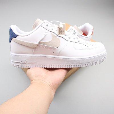 Nike Air Force 1 白 鴛鴦 斷勾 休閒運動 滑板鞋 898889-103 男女鞋 情侶鞋