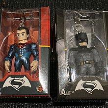 全新 Hottoys Batman v Superman Dawn of Justice Key Chain Set 蝙蝠俠 超人 一套 鎖匙扣 Touma