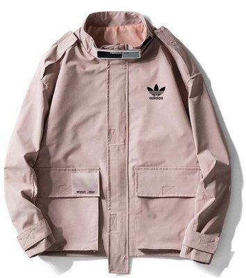 『Fashion❤House』Adidas 愛迪達 秋季 新款 運動長袖 立領外套棒球服素色外套 休閑衫女款夾克