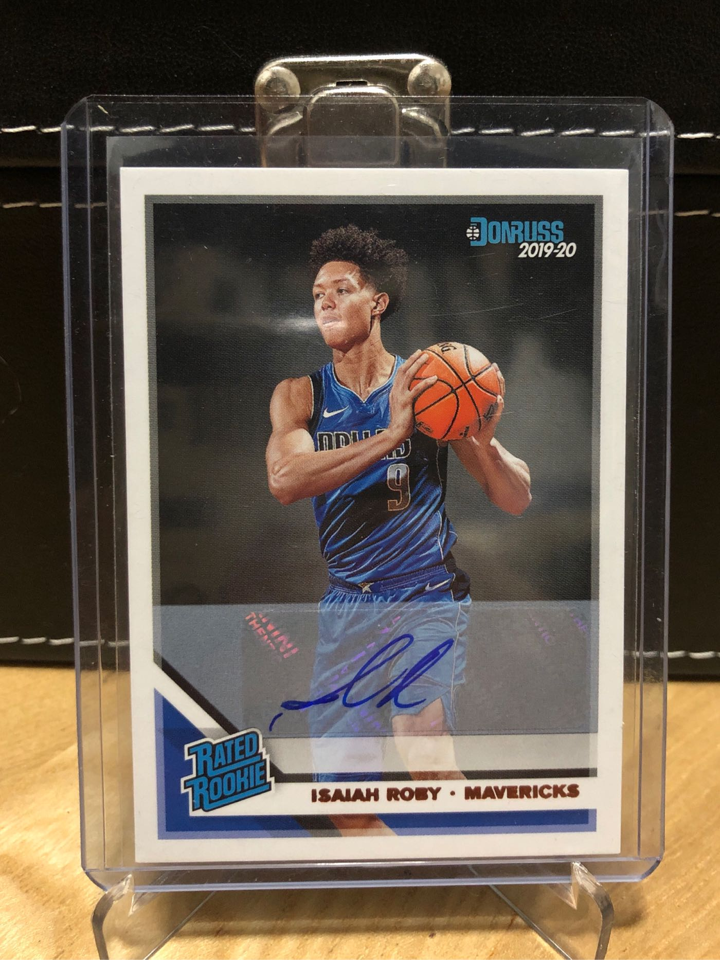 2019-20 Panini Donruss Rated Rookies Signatures Isaiah Roby #235 Rookie Auto