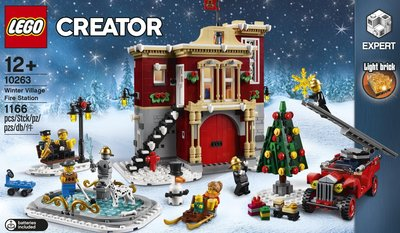 Lego Creator Expert 10263 Winter Village Fire Station - 全新 (注意內文/交收地點及時間)