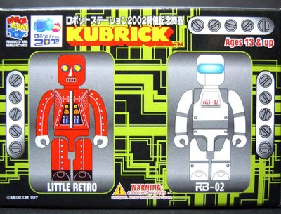 2002 開催記念商品 100% LITTLE RETRO RB-02 KUBRICK