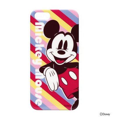 尼德斯Nydus~* 日本限定 正版 迪士尼 Disney 手機殼 保護殼 米奇 iPhone5 5S