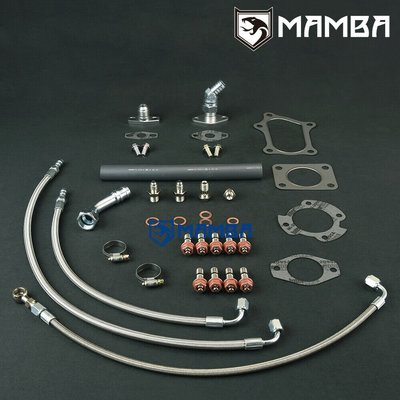 Turbo Oil & Water Line Install Kit For TOYOTA 1JZ-GTE  CT29R